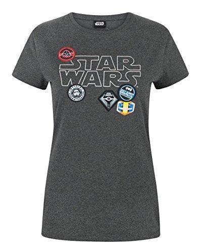 Star Wars Badges Women's T-Shirt (XL)