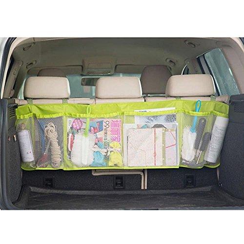 Preisvergleich Produktbild MMRMAutoAuto-RücksitzOrganizerMulti-TascheReiseAufbewahrungstasche für Spielzeug-Telefon iPhoneGadgets -Grün