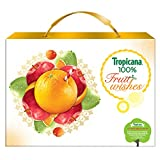 Tropicana 100% Fruit Juice - Festive Gift Box 3L (Mixed Fruit 1L + Orange 1L + Apple 1L)