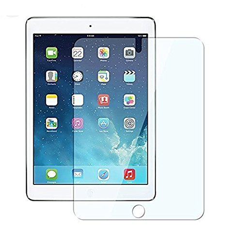 Azzil ipad 2 for Tempered Glass Premium 2.5D Curved 9H Anti-Fingerprints & Oil Stains Coating Hardness Screen Protector Guard for Apple ipad 2