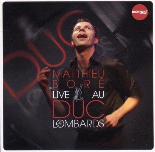 Live au Duc des Lombards -
