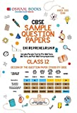 12th Sample Question PapersPreparing for any Examination calls for a lot of discipline and perseverance on the part of a student. We at Oswaal Books have always strived to be a student's closest companion, his guiding light and his trusted friend by ...