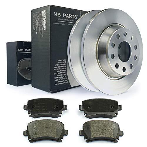 Bremsscheiben + Bremsbeläge hinten NB PARTS GERMANY 10041419