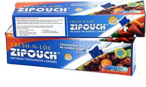 Zipouch Fresh-n-loc, Small (Pack of 10)