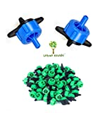 #2: Dripper Emitters - Drip irrigation accessories from Urban Krushi 100 Pcs - ISI certified