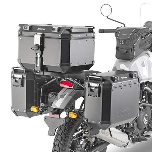 KL9050 Portamaletas Lateral específico para Maletas Monokey o Retro Himalayan Royal Enfield...