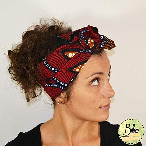 Fascia turbante per capelli modellabile in cotone double ...