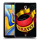 Head Case Designs Bravo Fussball Ole Ruckseite Hülle für Samsung Galaxy Tab A 10.5 (2018)