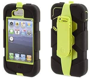 Griffin Survivor Étui pour iPhone 4/4S Citron/noir (Import Royaume Uni) (Import Royaume Uni)