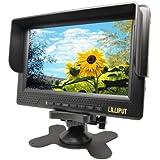 """Monitor para cámara de vídeo HD Lilliput 7"""", entrada de señal: HDMI, YPbPr, AV; Lilliput 668GL-70NP/H/Y"""