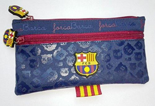 Fußball-messi Tasche (Exclusiv*FC Barcelona Federtasche Messi Schlamperrole Faulenzer Tasche EDEL)