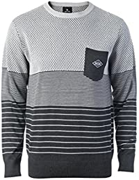 Rip Curl Striped Camiseta, Marle Dark, S