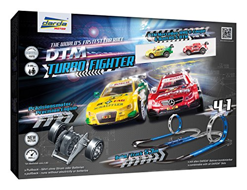 Darda DTM Turbo Fighter Rennbahn Spielset