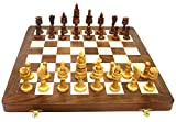"""Ages Behind Wooden Chess 15.5"""" with Wooden Lotus Coins Home Decor Gift"""