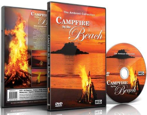 Entspannung DVD - Lagerfeuer am Strand mit den Klängen des Meeres & knisterndem Holz.