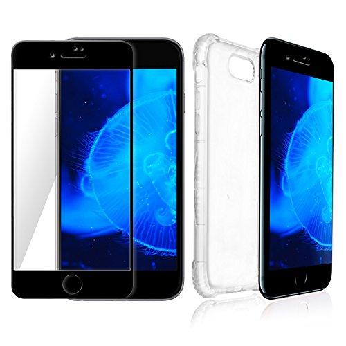 coque-iphone-7-plus-transparent-protecteur-decran-bord-noir-meilleure-360-protection-invisible-pour-