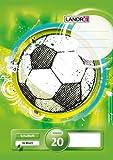 LANDRE 100050034 Schulheft 10er Pack A4 16 Blatt Lineatur 20