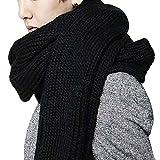 Bobury Sciarpa Calda della Lana di Inverno di Inverno degli Uomini delle Donne intaglia Il Scialle Lungo della Sciarpa degli Amanti