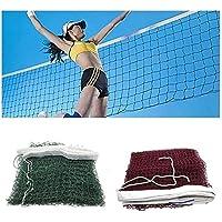 64cm L/_Shop Training Square Mesh Standard Badminton Net Sports Net for Outdoor Badminton Tennis Net Replacement,Red,620