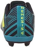 adidas Jungen Nemeziz 17.4 Fxg J Fußballschuhe, Mehrfarbig (Legend Ink /solar Yellow/energy Blue ), 36 2/3 EU - 2