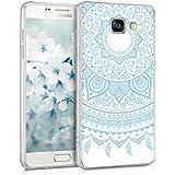 kwmobile Étui transparent pour Samsung Galaxy A5 (2016) Housse de protection en TPU silicone design IMD - cover souple pour portable Design soleil indien