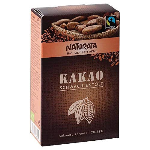 Naturata Bio Kakao schwach entölt 10x125g