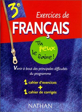 Francais, numéro 11 : 3e