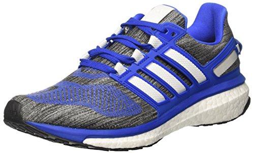 adidas Energy Boost 3, Zapatillas de Running para Hombre, Gris, Azul (Blue/ftwr White/core Black), 42 EU