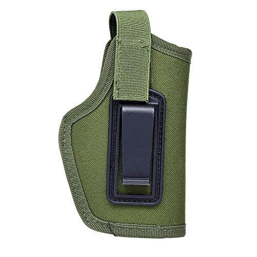 Yutongyi wasserdichte Markise Tragbare leichte Tasche für Jagdausrüstung Rechts und Links Universal 6,1-Zoll-verdeckte Tragetasche mit Clip Travel Pack (Color : Dark Green) -