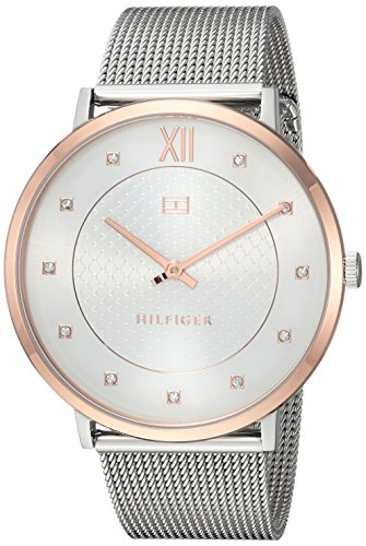 Tommy Hilfiger Women's 'SOPHISTICATED SPORT' Quartz Two and Stainless Steel Casual Watch, Color Silver-Toned (Model: 1781811)