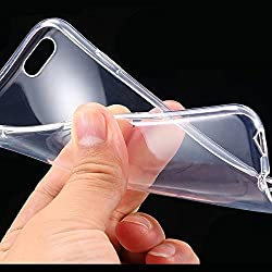 Cables Kart™ Ultra Thin 0.3mm Transparent Flexible Soft TPU Back Cover For Apple iPhone 6 plus / 6s plus 5.5 inch