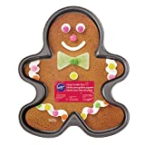 Wilton STAMPO ANTIADERENTE GINGERBREAD STAMPO ANTIADERENTE GINGERBREAD, Acciaio, Nero,