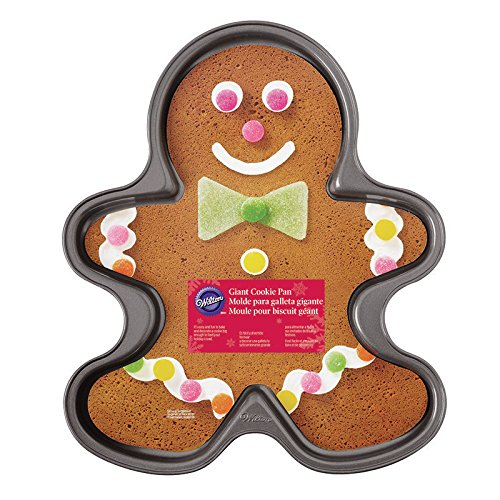 Wilton Giant Gingerbread Boy Cookie Dose Gingerbread Cookie Pan