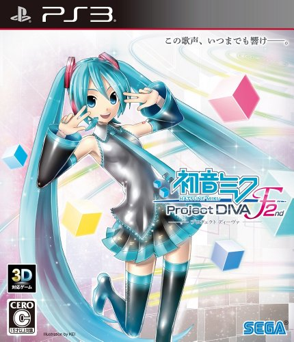 Hatsune Miku Project DIVA F 2nd [Japan Import] (Diva F Hatsune Project Miku 2nd)