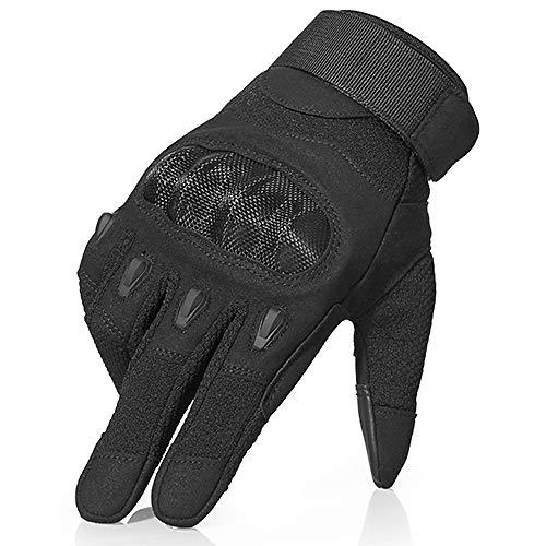 Llzgpzst guanti tattici guanti tattici militari neri del touch screen tattico che combattono l'esercito paintball duro knuckle che guida il guanto per le donne degli uomini