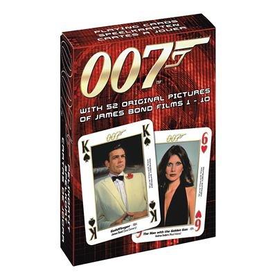 "Carta Mundi 22566026 - Poker \""James Bond 007\"" Spielkarten Film 1-10"