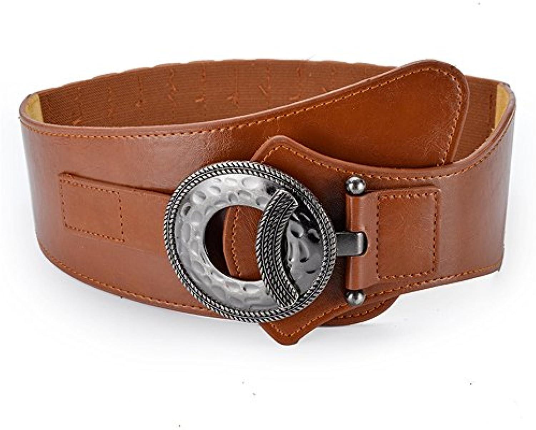 Maybesky Cintura Donna a Vita Alta in con Elastico in Alta Vita da Donna  Ampia Cintura Elastica in Vita Parent 2e16ec d6f01a6a0805