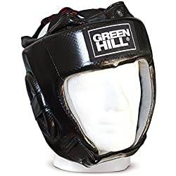 Green Hill Amateur - Casco de boxeo unisex, color negro, talla M