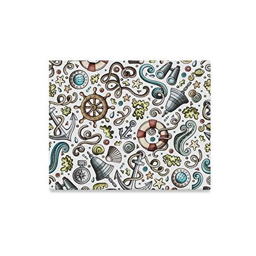 lerei Cartoon Nette Handgezeichnete Nautische Marine Drucke Auf Leinwand Das Bild Landschaft Bilder Öl Für Home Moderne Dekoration Druck Dekor Für Wohnzimmer ()