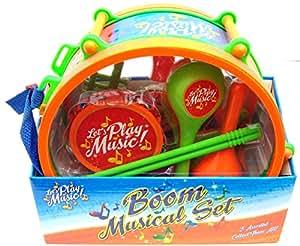 Boom Ensemble musical instrument musique Instrument de percussion Kit tambour jouet pour enfant NEUF