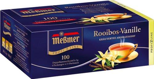 Meßmer ProfiLine Rooibos Vanille 100 x 2 g, 1er Pack (1 x 200 g)