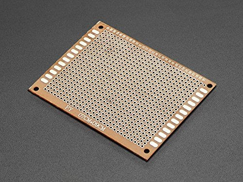 Adafruit Bakelite Universal Perfboard Plates - Pack of 10 [ADA2670] - Copper Sheet Stock