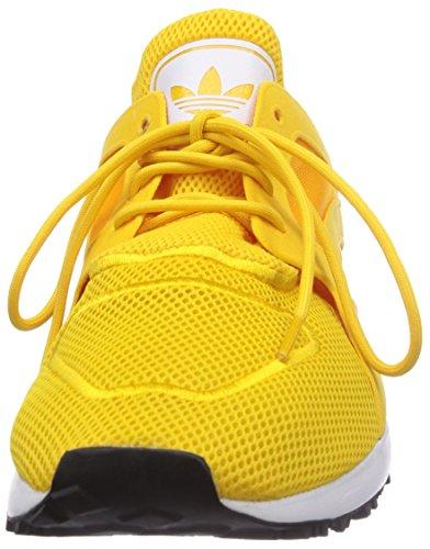 adidas Racer Lite, Senakers a Collo Basso, Unisex Dorato (Bold Gold/Ftwr White/Core Black)