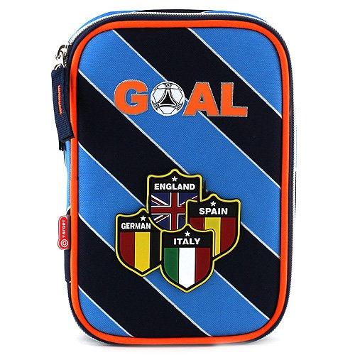 goal-00748-target-astuccio-scuola-pieno-blu-chiaro-arancione-nero