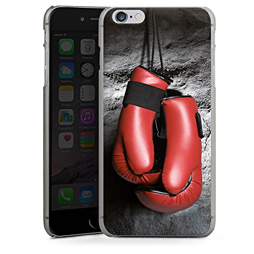 Apple iPhone X Silikon Hülle Case Schutzhülle Boxen Boxhandschuhe Fight Hard Case anthrazit-klar