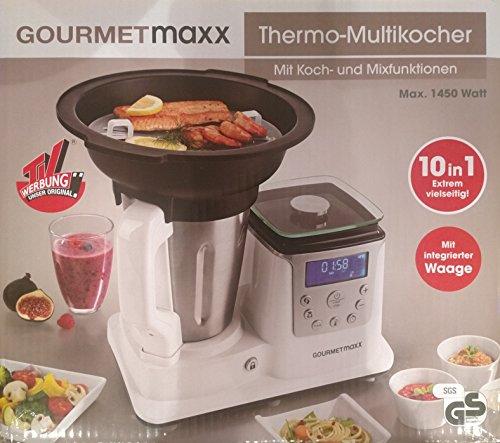 GOURMETmaxx – Thermo Multikocher – Mit Koch und Mixfunktion
