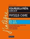 Physique-Chimie - Visa pour la prépa 2018-2019- MPSI-PCSI-PTSI-BCPST 2018-2019
