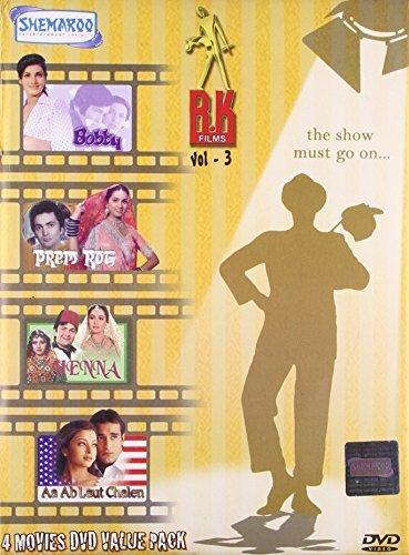 R.K. FILMS VOL.3 (BOBBY,PREM ROG, HENNA, AA AB LAUT CHALEN)