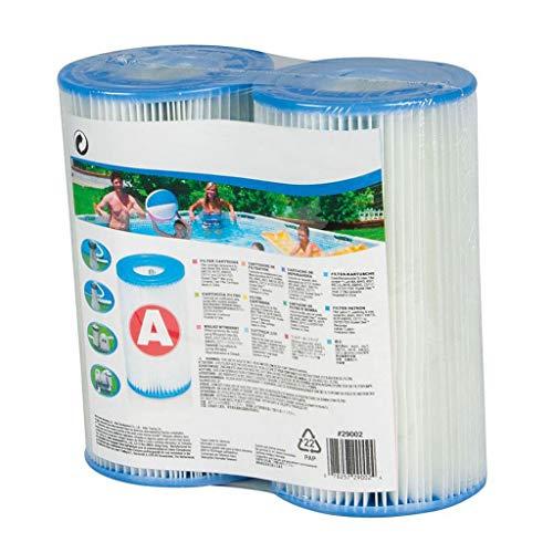 99native 2 Stück Filteranlagenzubehör, Filterkartusche, Typ A (Weiß)