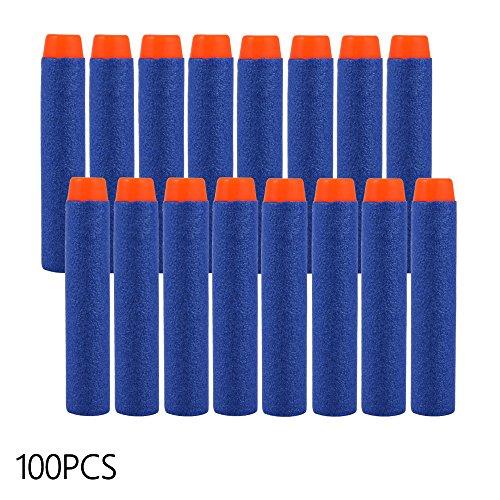 XCSOURCE 100pcs 7,2 centimetri di EVA Refill Schiuma morbida proiettile freccette blu per i bambini pistola giocattolo TH271